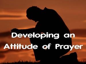 Attitude of Prayer