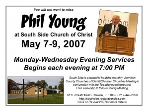 Flyer - Phil Young