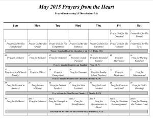 2015-05 Prayer calender